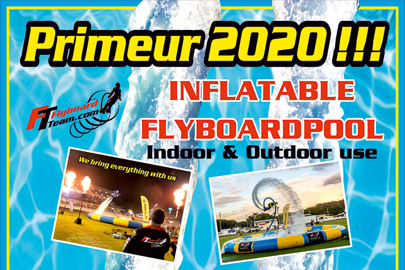 Primeur-2020 inflatable flyboardpool